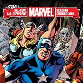 All-New, All-Different Marvel Reading Chronology (2017)