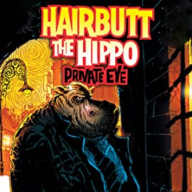 Hairbutt The Hippo