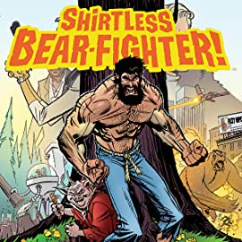 Shirtless Bear-Fighter!