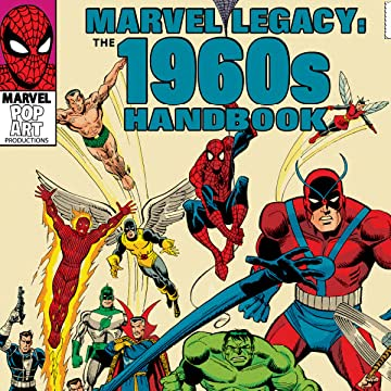 Marvel Legacy: The 1960s-1990s Handbook