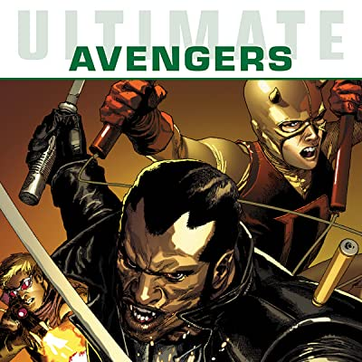 Ultimate Comics Avengers: Blade vs the Avengers