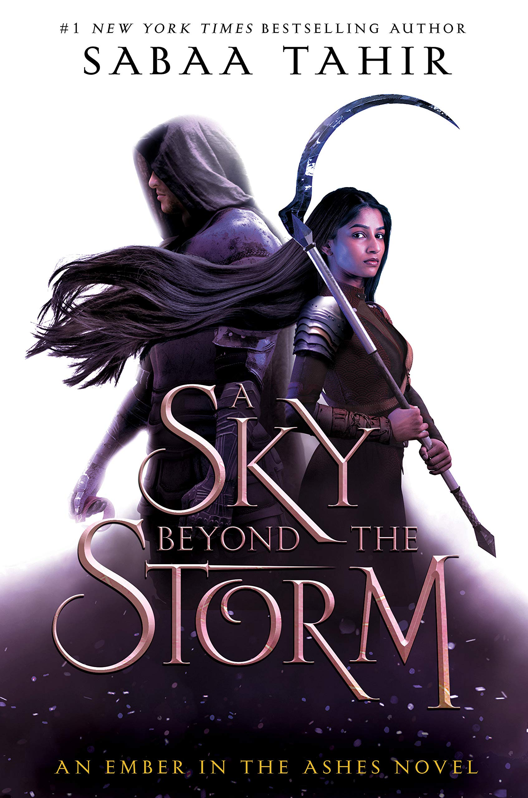 Cover of A Sky Beyond the Storm by Sabaa Tahir