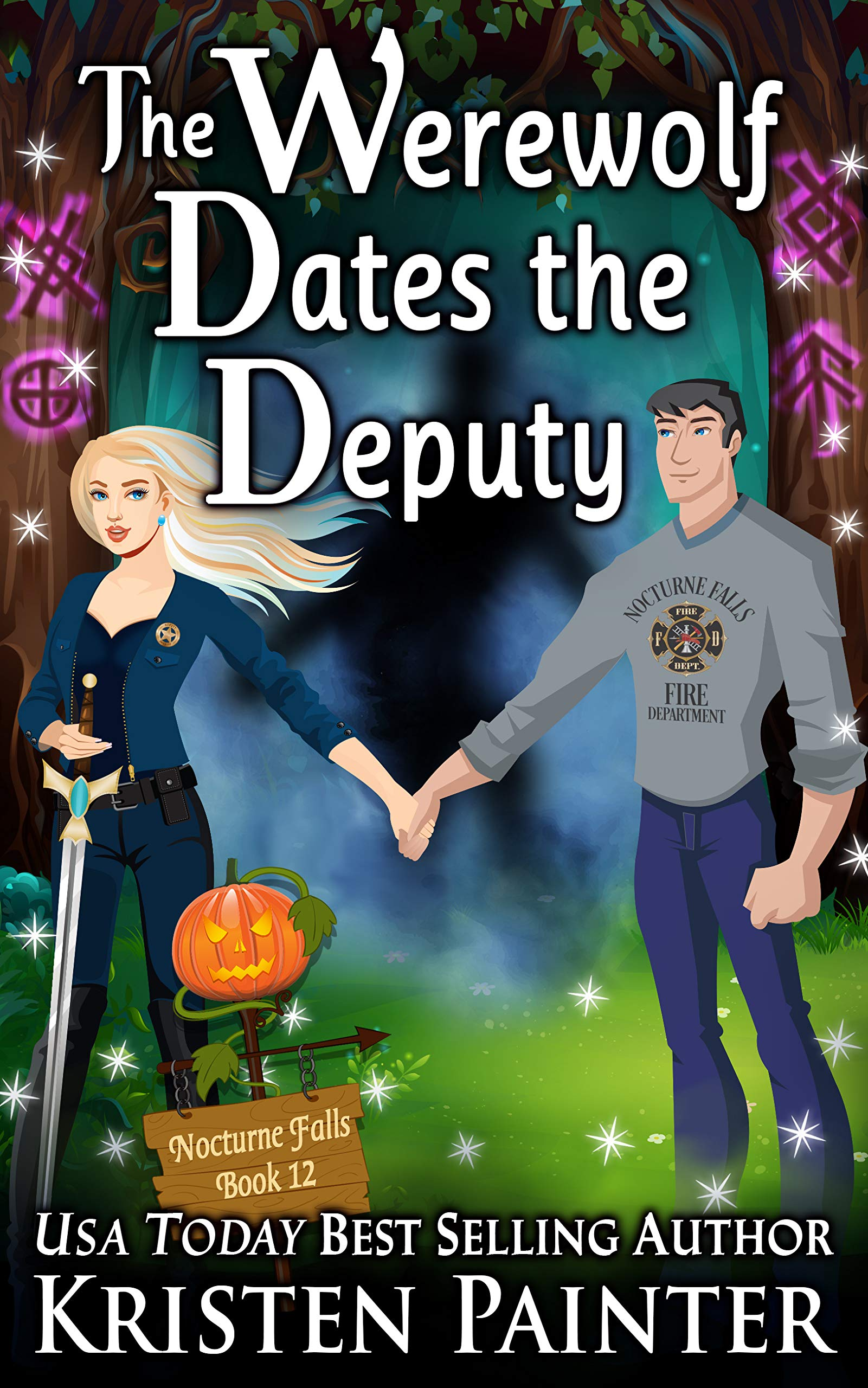 Book Review: The Werewolf Dates the Deputy by Kristen Painter