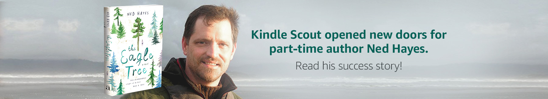 Kindle Scout opened new doors for part-time author Ned Hayes. Read his success story!