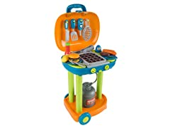 Grill BBQ Playset, Food and Tools