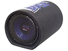 "10"" 500W Carpeted Subwoofer Tube"