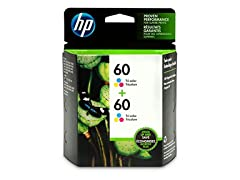 HP 60 Tri-color Original Ink Cartridges