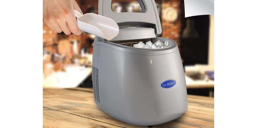 Quiet Countertop Ice Maker : Countertop Ice Cube Maker - Home & Kitchen
