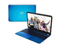 "Dell 17.3"" Quad-Core Laptop - Indigo Blue"