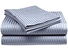 Comfort Linen 300TC Cotton Dobby Queen Sheets