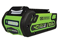 Greenworks 40V 2.0AH Li-Ion Battery