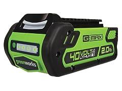 Greenworks 40V 2.0AH Li-Ion Battery