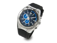 Black/Blue Men's Cruise Watch