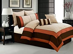 Aspen Hotel 8Pc Set-Beige-Queen