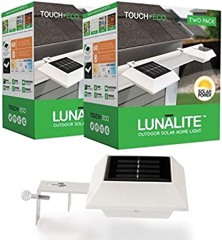 4-Pk. Touch of ECO LUNALITE Solar Outdoor Lights