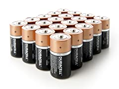 C CopperTop Alkaline Batteries - 20 Pack