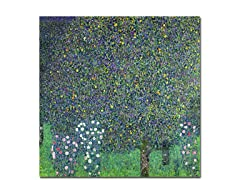 Gustav Klimt Roses Under the Trees