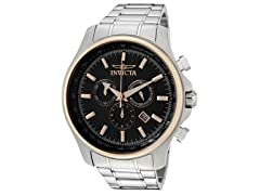 Invicta Specialty Chronograph, Black