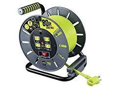 MasterPlug Heavy Duty Extension Cord Reel