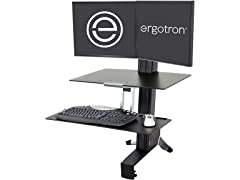 Ergotron ERGOTRON 33-349-200 Ergotron - WorkFit-S Dual Sit-