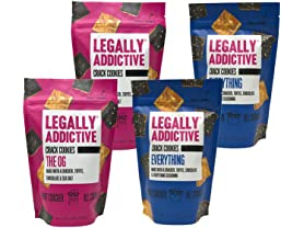 4 Pack Legally Addictive Foods Crack Cookies