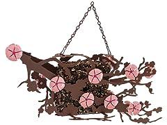 Desert Steel Cherry Blossom Suet Feeder