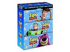 Disney Pixar Toy Story Trilogy - Blu-Ray