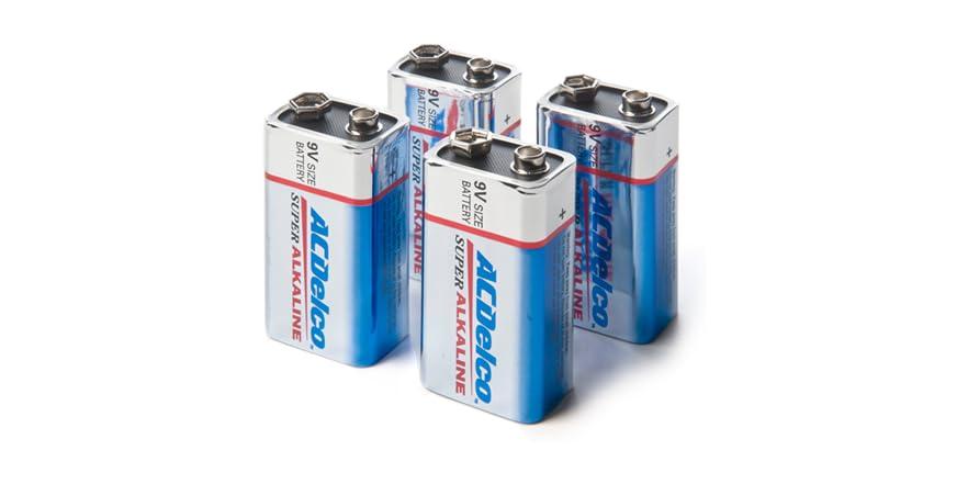 9 volt alkaline batteries 4 pack. Black Bedroom Furniture Sets. Home Design Ideas