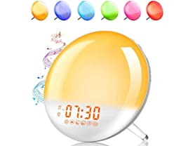 XIRON Alarm Clock Wake Up Light