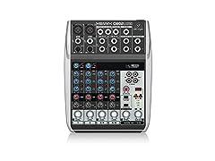 Behringer Xenyx Q802USB Premium Mixer