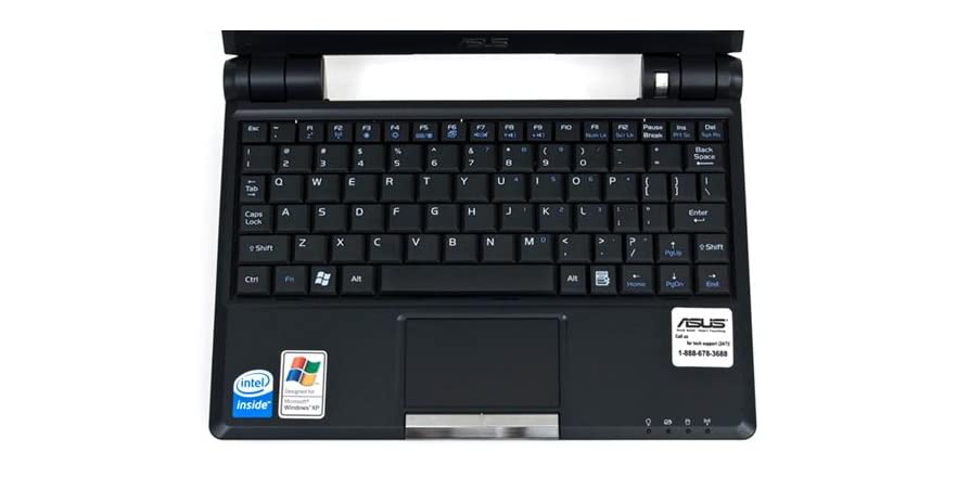 Asus Eeepc 900 Netbook With Webcam 8gb Ssd And Windows Xp