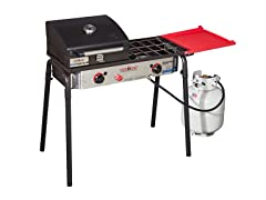 Camp Chef Big Gas Grill Two-Burner Stove