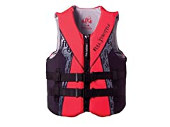 Adult Flex-Back Watersport Vest - Red