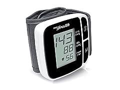 Bluetooth Wrist Blood Pressure Monitor
