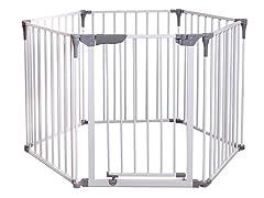 3-in-1 Play Yard & Wide Barrier Gate
