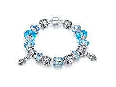 Aruba Aqua Blue Charm Bracelet