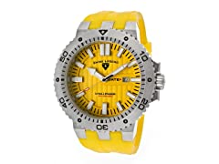 Challenger Watch, Yellow / Silver
