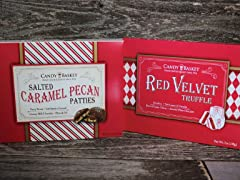 Candy Basket Truffle & Pecan Patties (2)