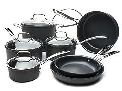 Cuisinart 17-Piece Nonstick Cookware Set