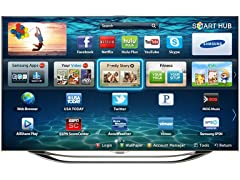 "Samsung 65"" 1080p 3D 960 CMR LED Smart TV with Wi-Fi"