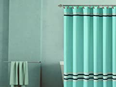 Trinity Hotel Fabric Shower Curtain-3 Sizes