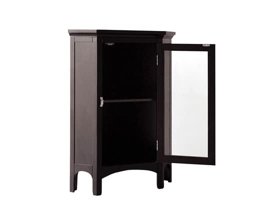 elegant home fashions madison avenue corner floor cabinet
