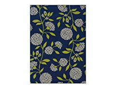 Cottage Navy Rug (Multiple Sizes)