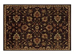 Parker Oriental Brown Rug - 5 Sizes