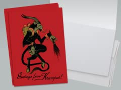 Greetings from Krampus! Greeting Card 10-Pack