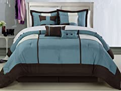 Dorchester 8Pc Set-Blue-2 Sizes