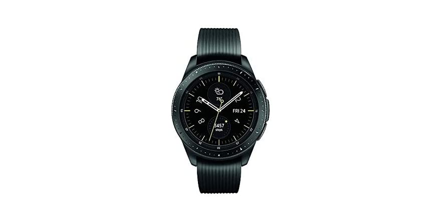 Samasung Galaxy Watch 42MM (Unlocked LTE, GPS, Bluetooth) SM-R815UZKAXAR | WOOT