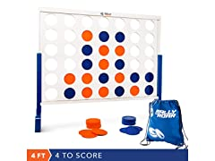 Rally&Roar Premium Wooden Connect4 Game