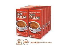 Café La Llave Decaf Espresso Capsules