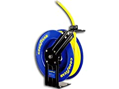 "Goodyear 3/8"" x 50' Rubber Air Hose Reel"